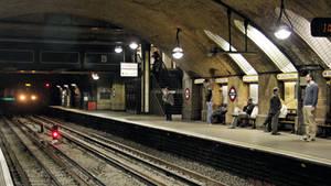London Underground - Baker Street by UdoChristmann