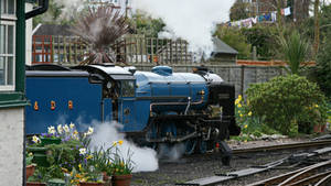 Hythe station of the RHDR by UdoChristmann