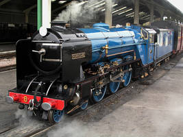 Hurricane in Romney station by UdoChristmann
