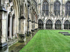 Cloister Canterbury UK 3 by UdoChristmann