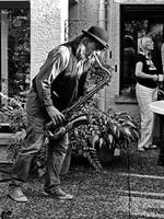 Playing the sax 2 by UdoChristmann