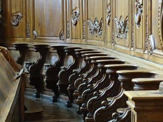 Choir stalls by UdoChristmann
