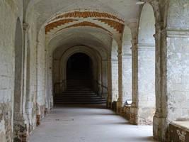Abbaye de Valloires - cloister by UdoChristmann
