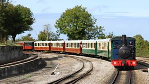 Steam train by UdoChristmann