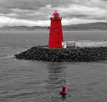 Lighthouse Dublin - Eire by UdoChristmann