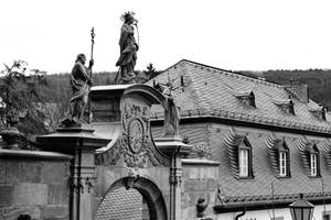 Gatefigures - Monastary  Eberbach by UdoChristmann