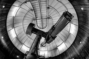 Astronomical telescope by UdoChristmann