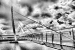 Pedestrian bridge - Swansea - UK
