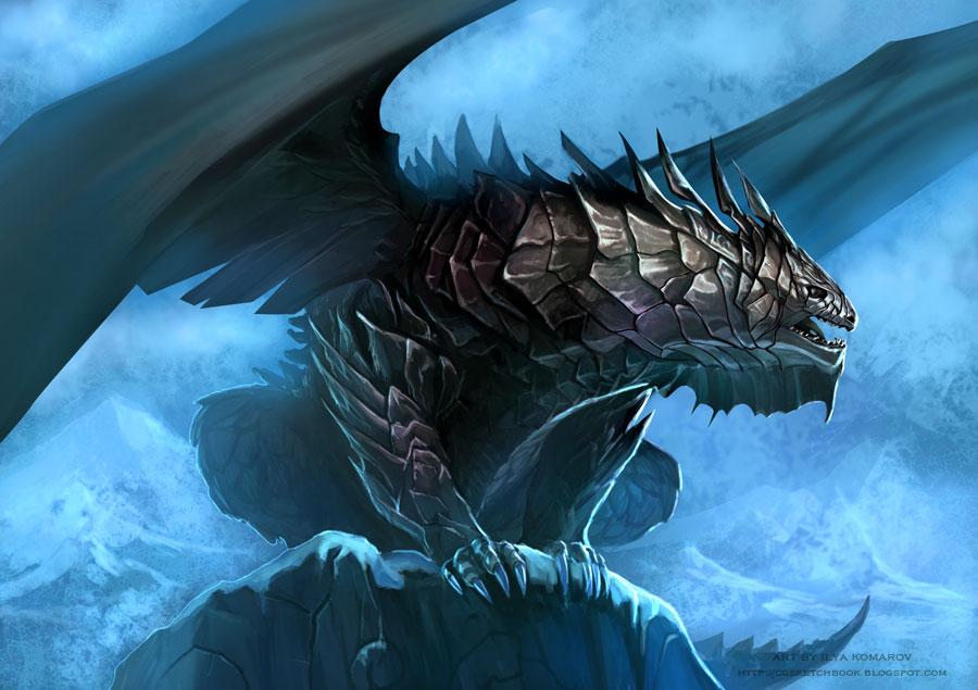 Steel dragon by delowar