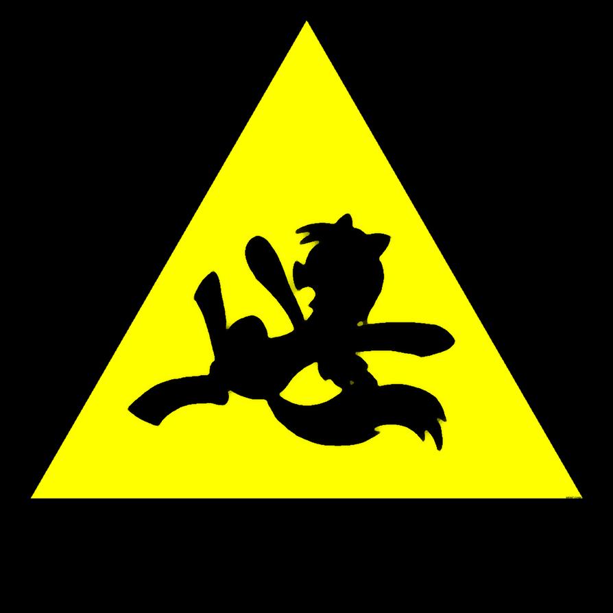 Caution: Wet Floor ( Derpy / My Little Pony style) by InfinityDash