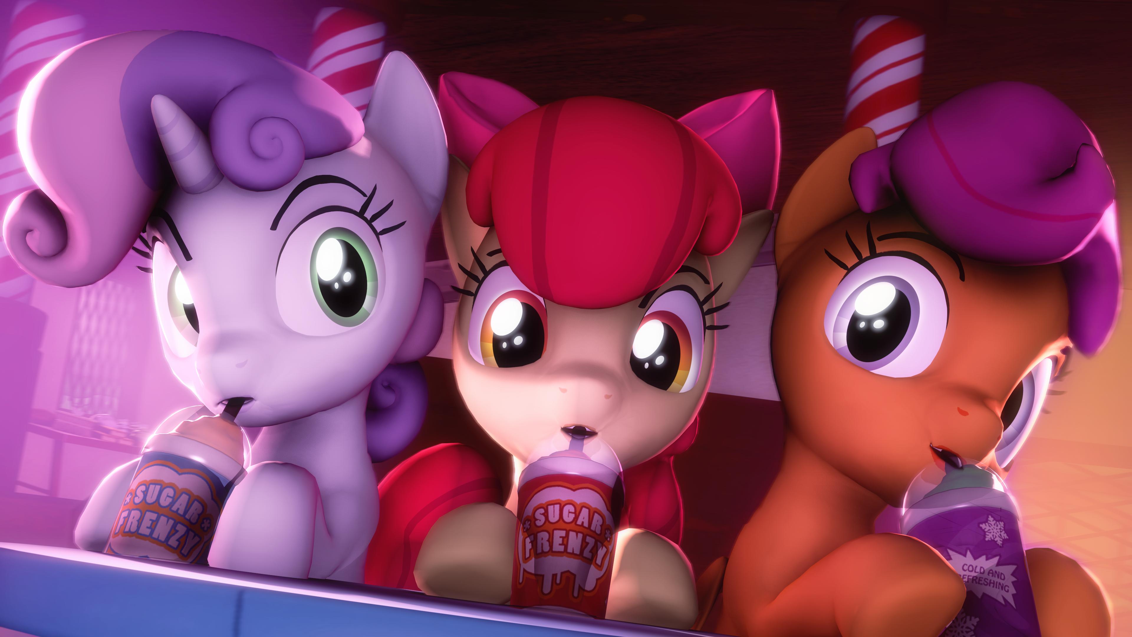 Cute trio by SelestLight