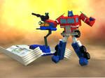 Optimus Prime and Trailer