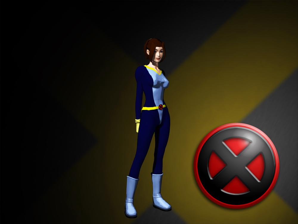 X-Men Evolution Kitty Pryde by AntonioCC on DeviantArt
