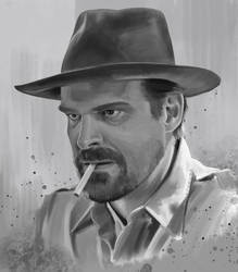 Jim Hopper by EricWeathers