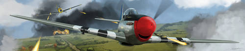Dogfight over France by EricWeathers
