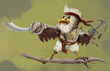 Featherbeard! by EricWeathers