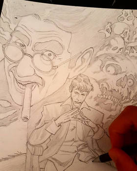 Dylan Dog tribute wip
