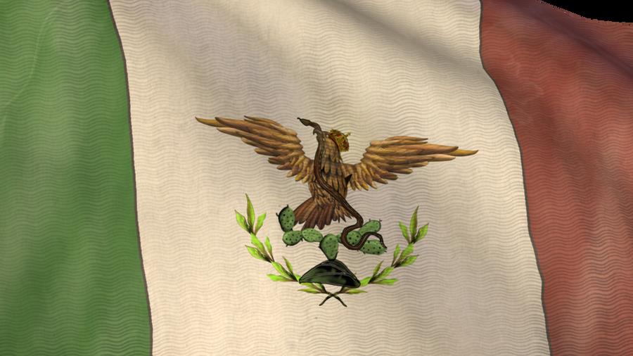 bandera imperio maximiliano by poderosoandrajoso