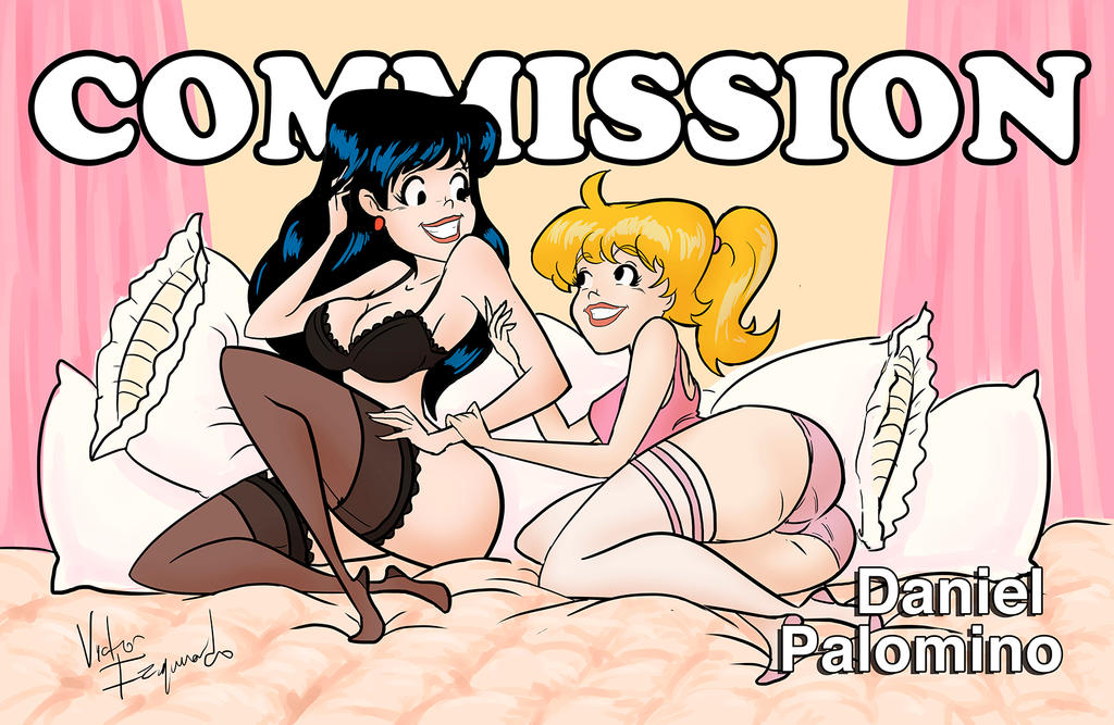 Betty and Veronica commission by poderosoandrajoso