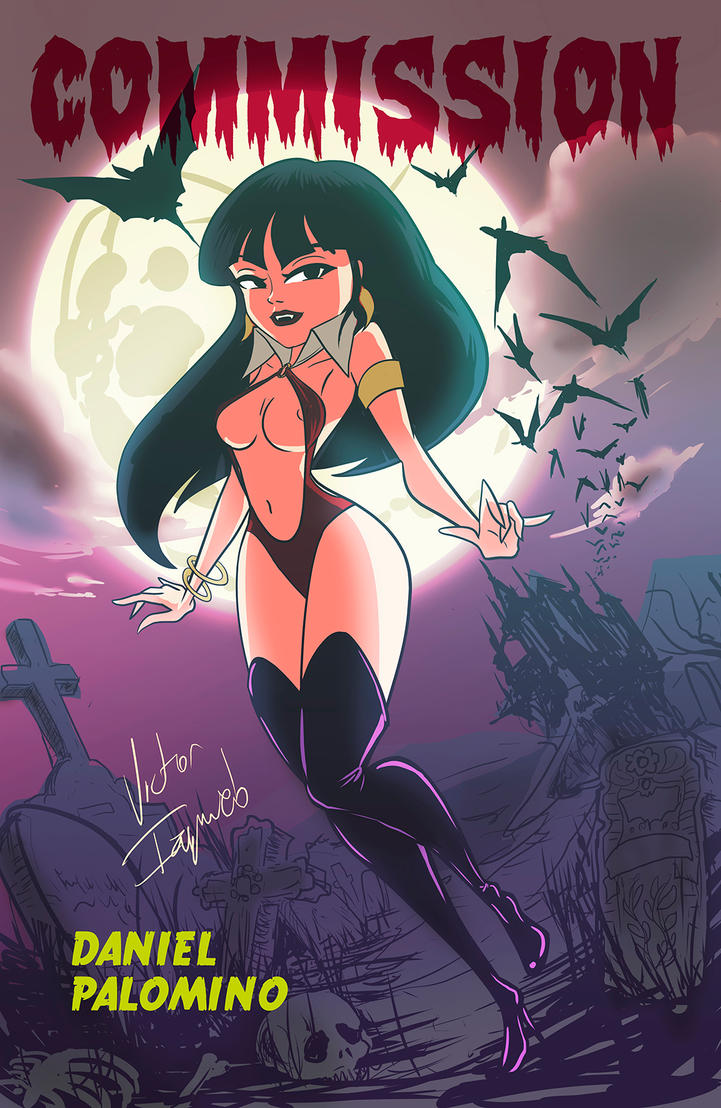 Vampirella Commission by poderosoandrajoso