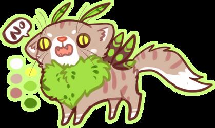 MYO Mothcat by Blobosaur
