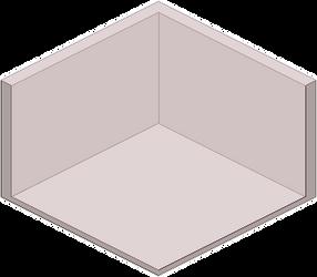 Pixel Room Base by Blobosaur