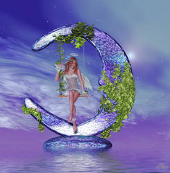 Moon Angel by Blazerwiccan