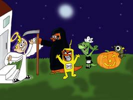 Happy Halloween by Hedgehog-Russell