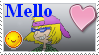 Mello stamp by Hedgehog-Russell