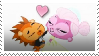 Russell and Minka dance stamp by Hedgehog-Russell
