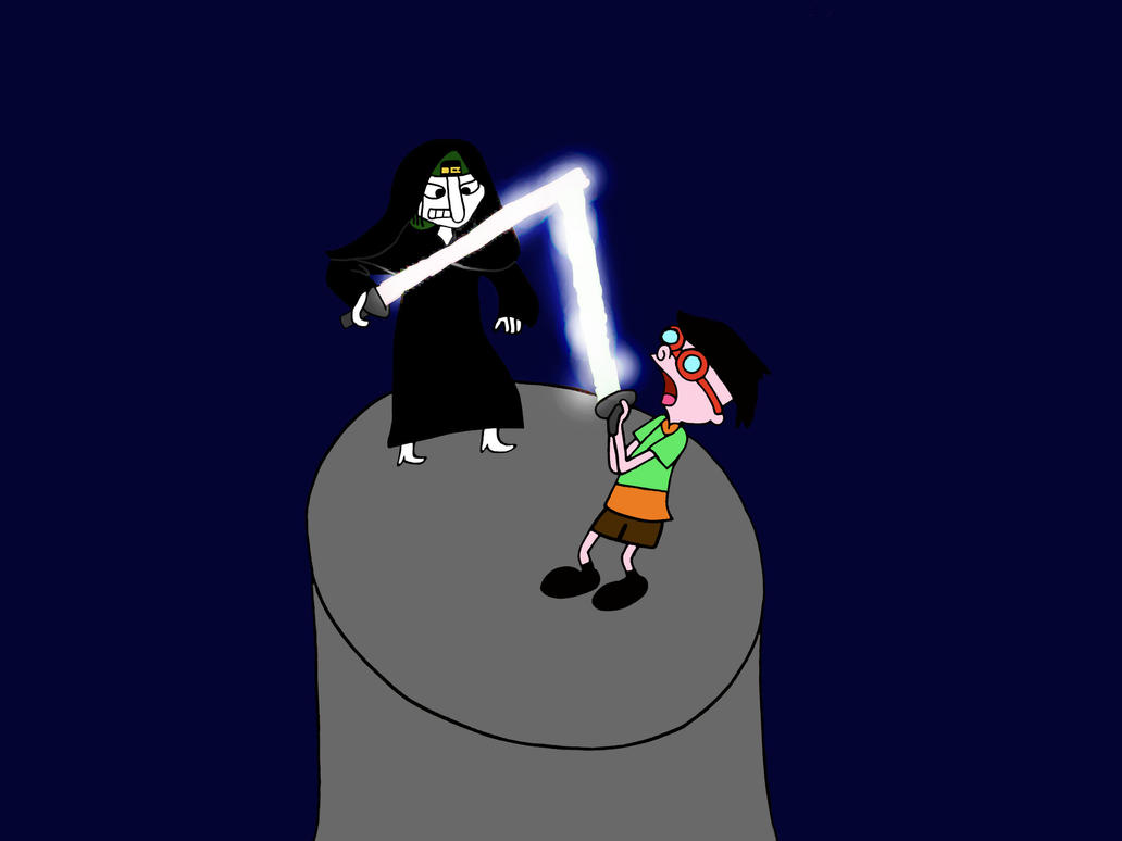 Sid sith fights with Curly by Hedgehog-Russell