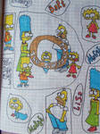 The Simpsons Old art