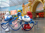 Smurfs in Moscow by Hedgehog-Russell