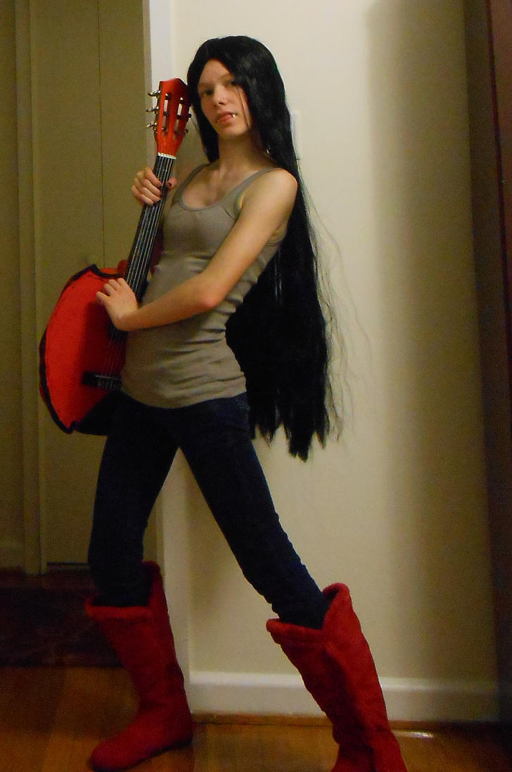 Marceline The Vampire Queen Cosplay Wig