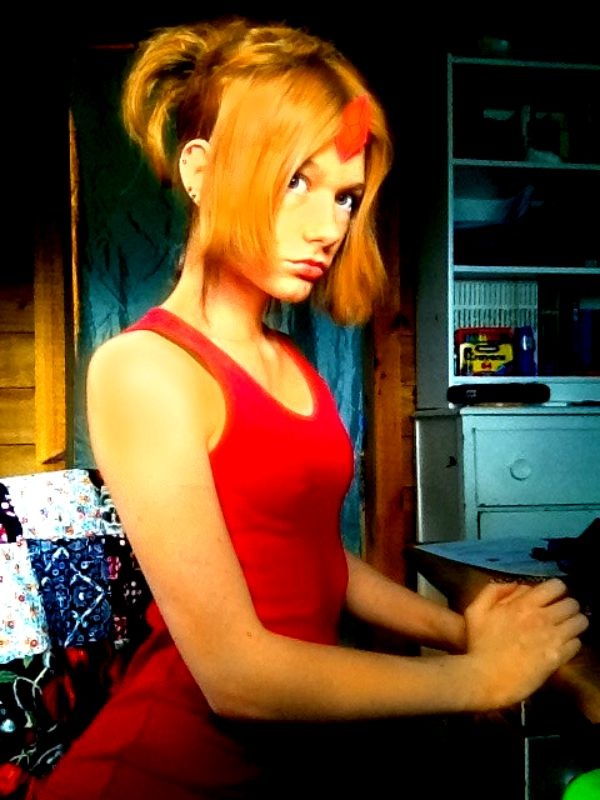Flame Princess Cosplay by gPrincessofDarknessf