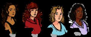Heroines by HappyHS