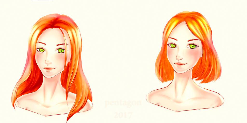 red-haired beast by MalaYaa