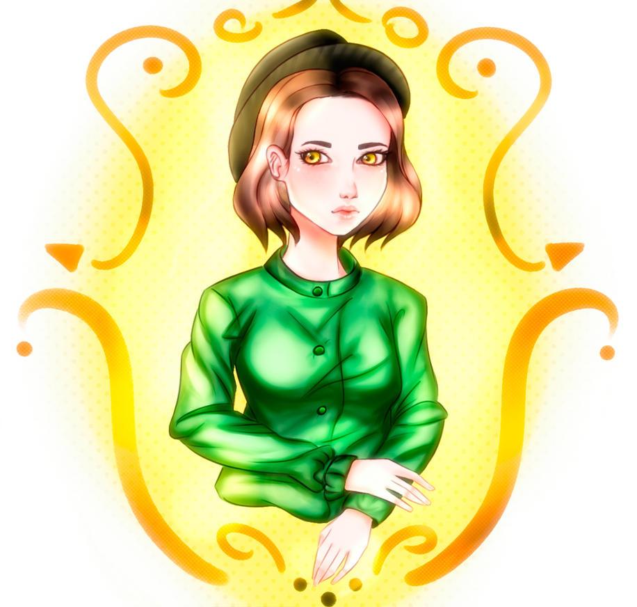 Korean fashion girl by MalaYaa