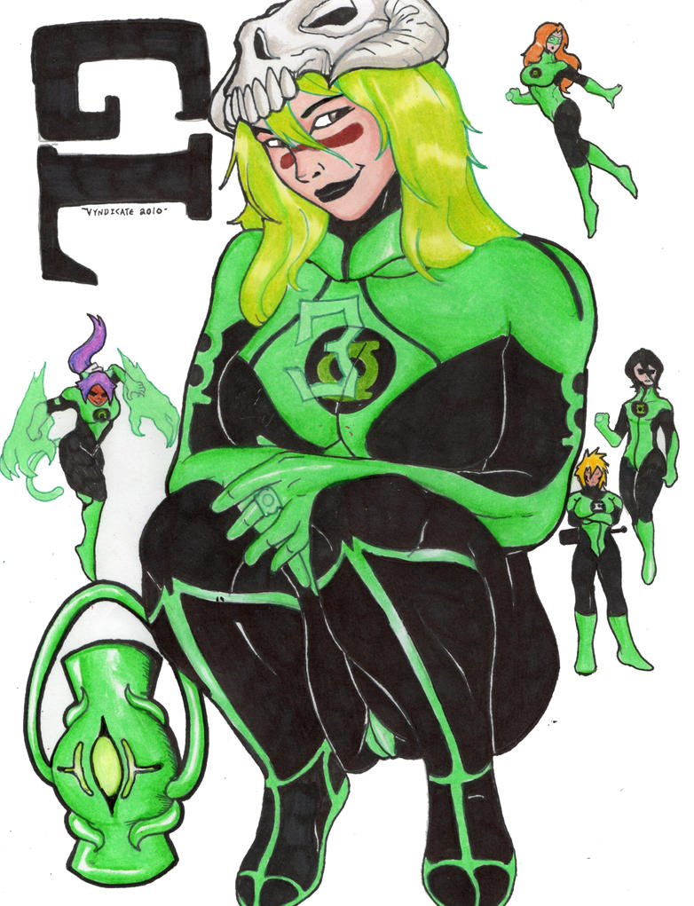 Bleach Green Lanterns by craniusrai