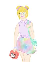 Pastel Schoolgirl by Cartel-Pastel