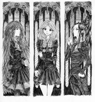 Filizitas Bookmarks by Luna-Kaneshiro