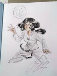Gift Art: Taekwondo by Luna-Kaneshiro