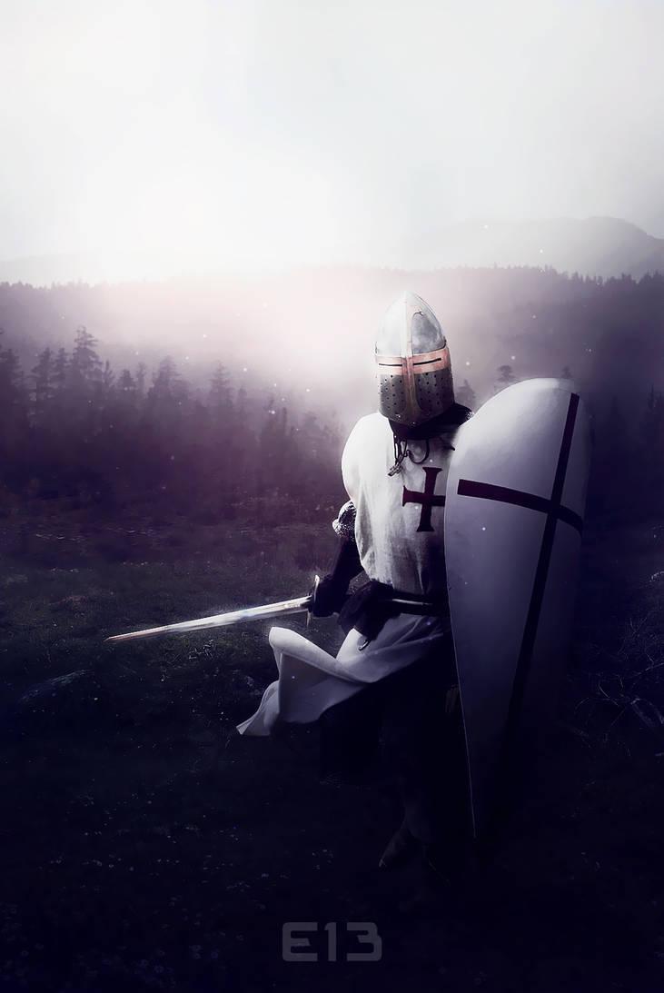 The Knight. by Eisanka