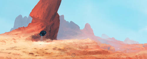 Desert by Eisanka