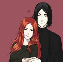 HP: Severus and Lily by anamoar