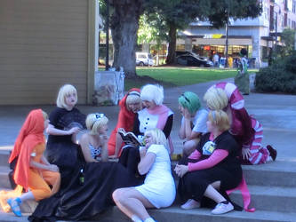Story time with Mom - kumoricon 2012 by Urgal