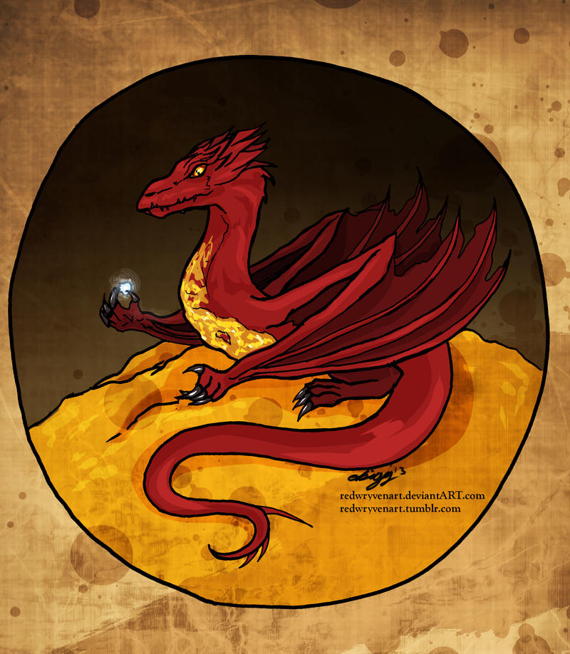 Smaug for the Hobbitses by DalekMercy