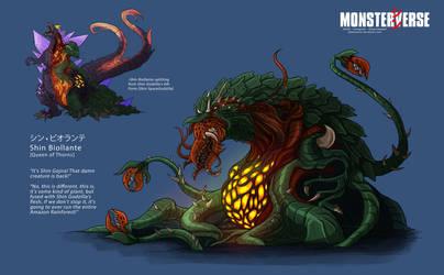 Shin Biollante - ShinMonsterverse by DalekMercy