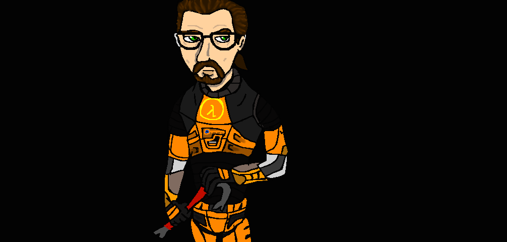 Gordon Freeman Half Life 1 By Drfunk98 On Deviantart