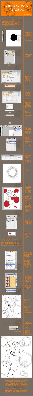 Ogives Manga Tutorial - French by potiron02